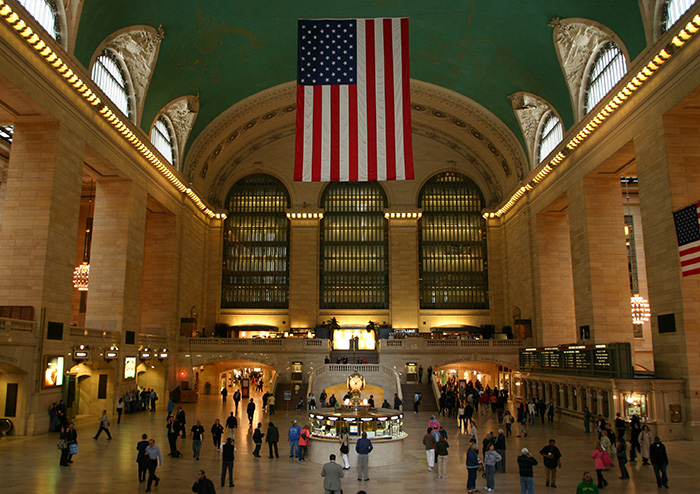 NYC Grand Central Terminal, the great hall