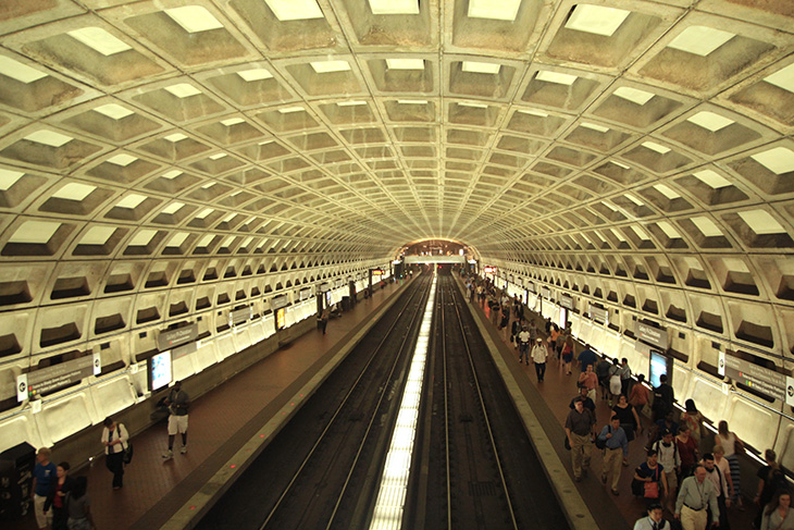 Metro-Center Station in Washington