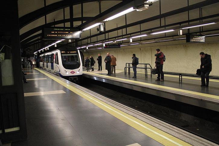 Madrid Metro Cuatro Caminos Station