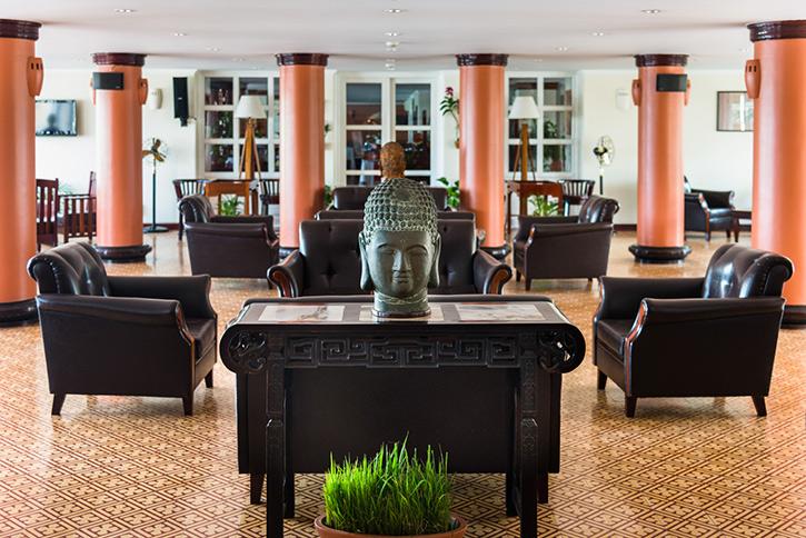 Victoria Chau Doc Hotel lobby