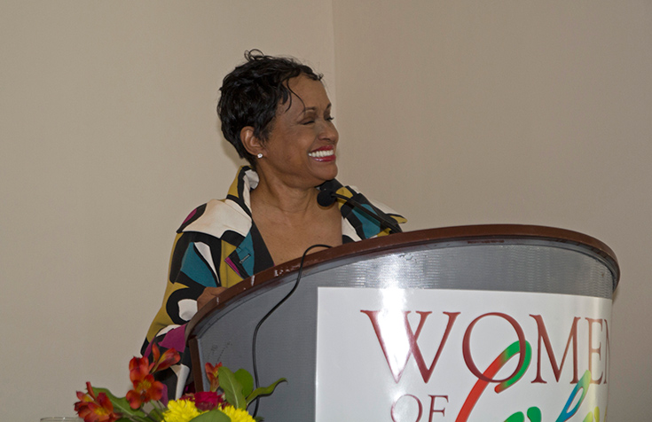 Judge Judy Hackett, Women Of Color Conference