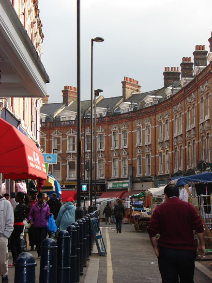 Electric Avenue Market in London