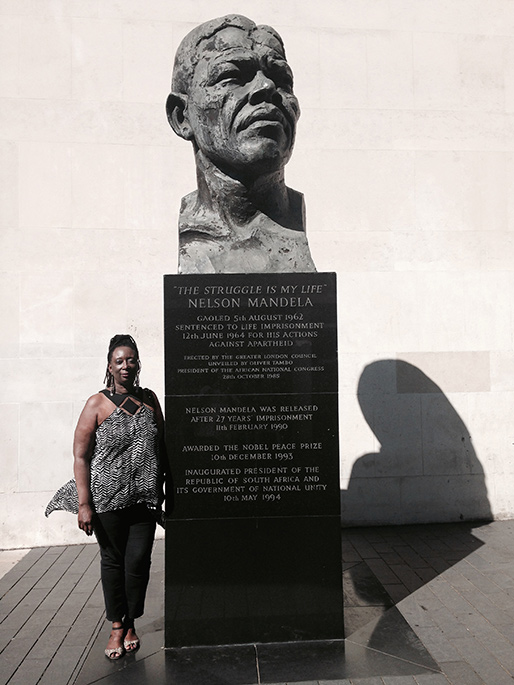 Nelson Mandela Monument, London