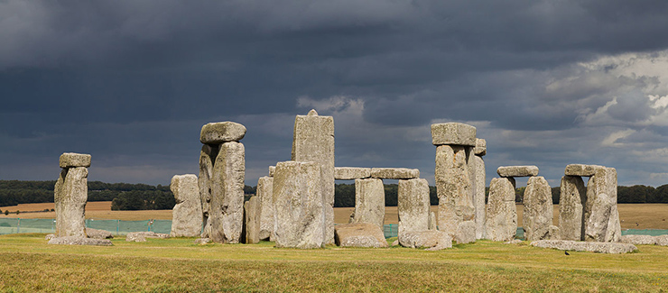 Stonehenge near London