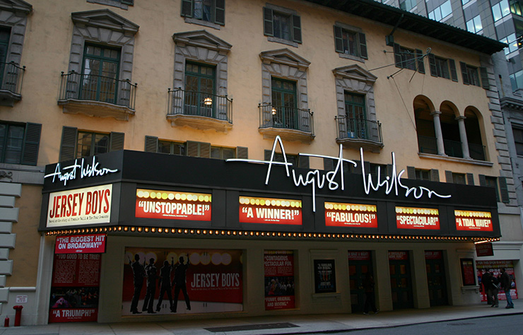 August Wilson Theatre, Broadway Theatres
