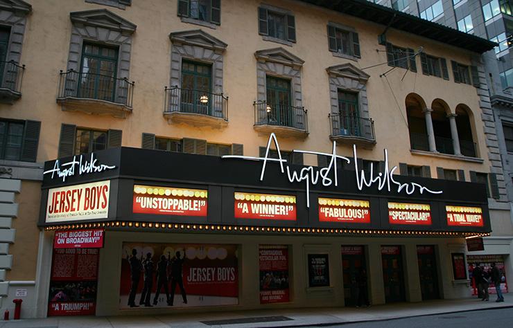 August Wilson Theatre, Broadway Theatres