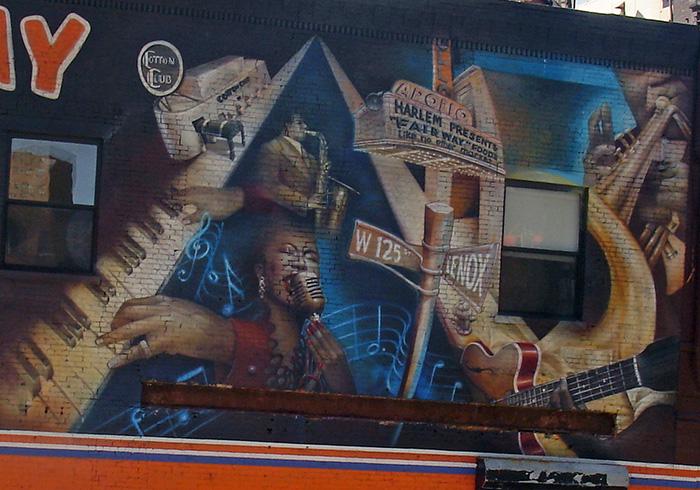 Harlem mural