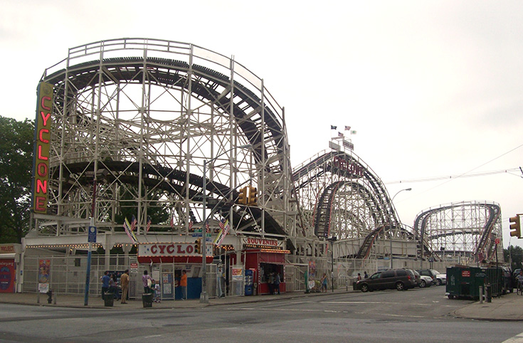 Coney Island Cyclone, Brooklyn