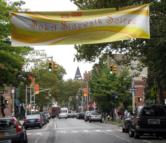 SOLA Sidewalk Soiree, Brooklyn