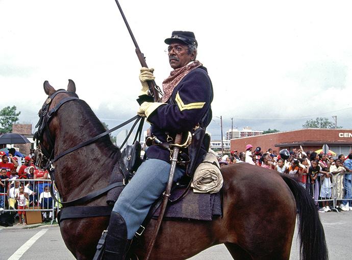 Buffalo Soldier at Bud Billiken Parade, Chicago Trivia