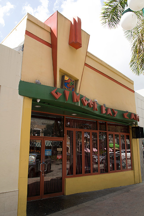 Ginger Bay Cafe, Hollywood, Fort Lauderdale Restaurants