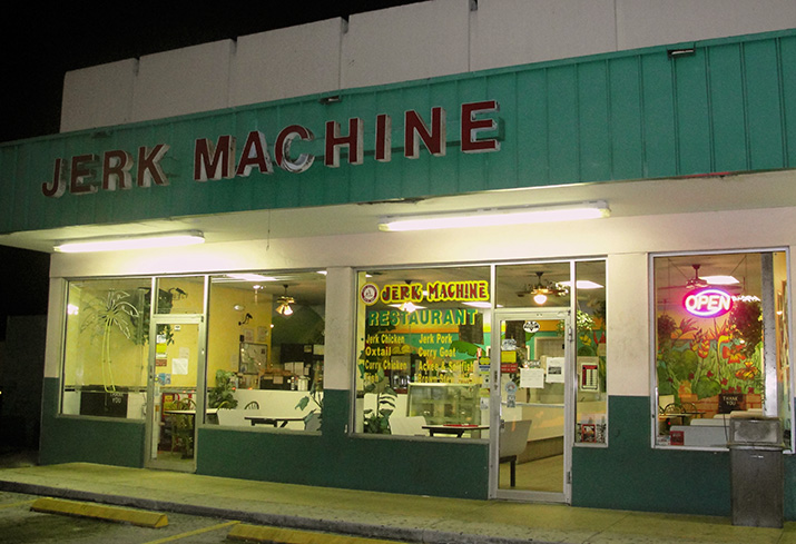Jerk Machine - Fort Lauderdale