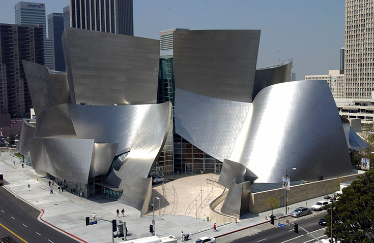 Disney Concert Hall, Los Angeles Arts