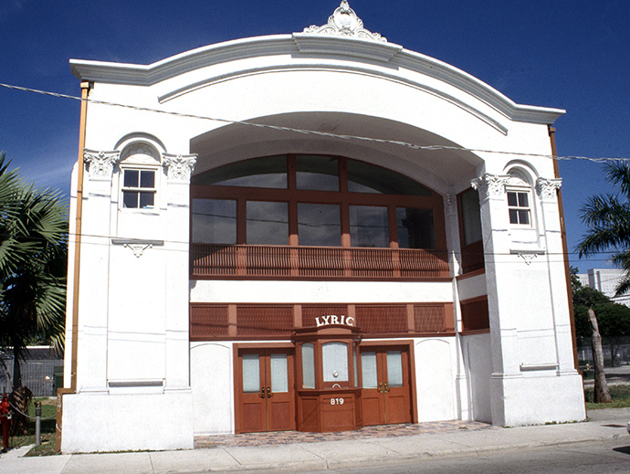 Lyric Theater, Miami Cultural Sites