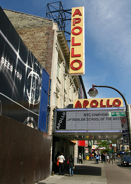 Apollo Theater in Harlem; (c) SoulOfAmerica