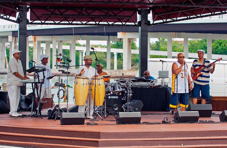 Hampton JazzFest, Hampton General Attractions