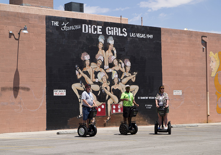 Dice Girls mural, Las Vegas
