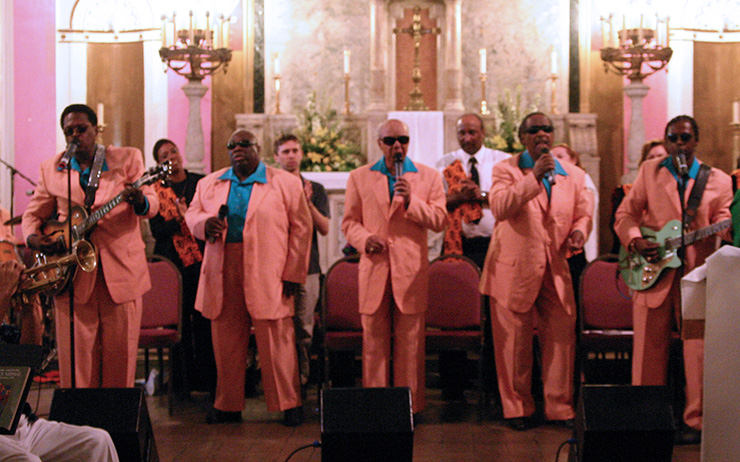 5 Blind Boys at St. Augustines Catholic Church