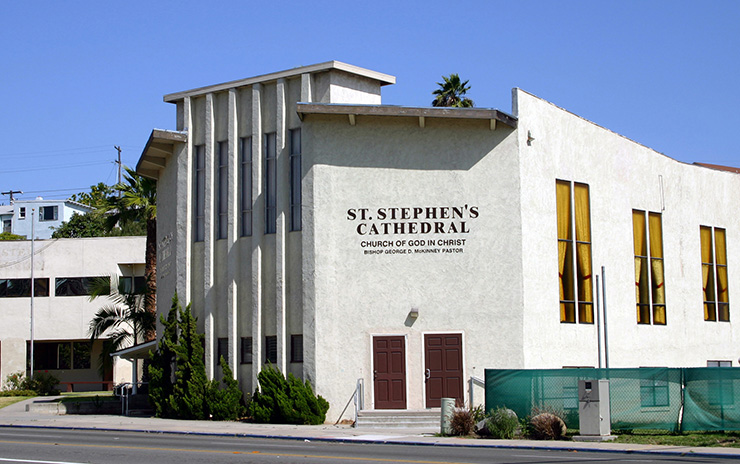 St. Stephens COGIC, San Diego Heritage Sites
