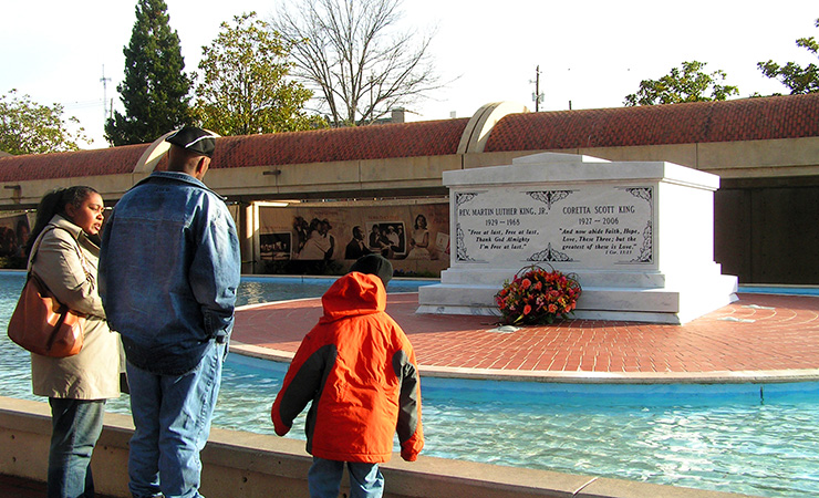 Martin Luther King Jr. and Coretta Scott King Tomb, Atlanta Heritage Sites