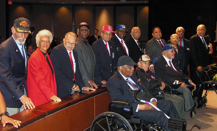 Atlanta honors Tuskegee Airmen