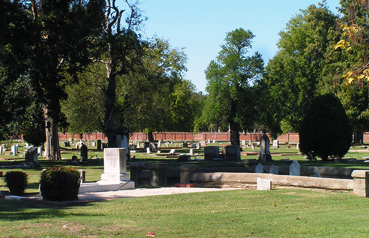 Cedar Grove Cemetery, Augusta History