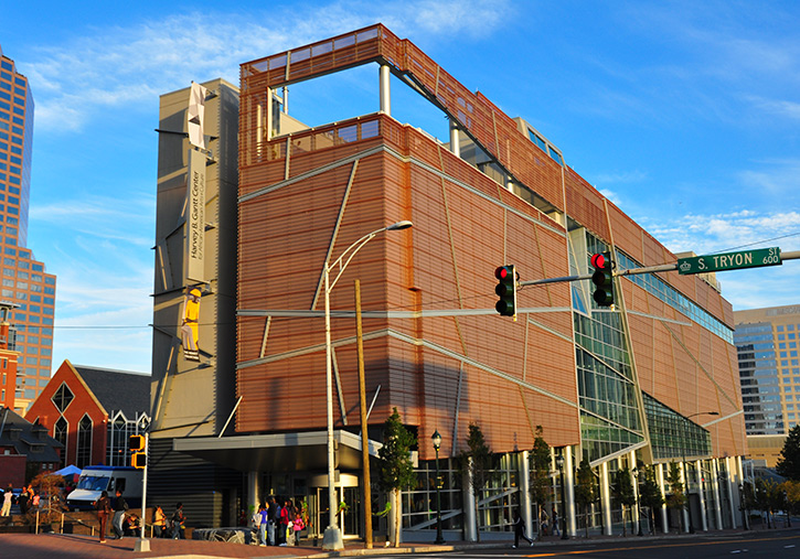 Harvey Gantt Center of African-American Arts & Culture, Charlotte Cultural Sites