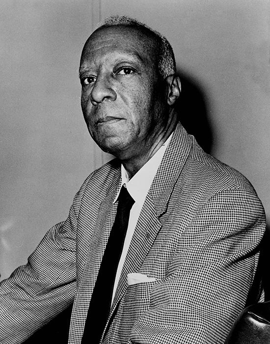 A. Philip Randolph in 1963