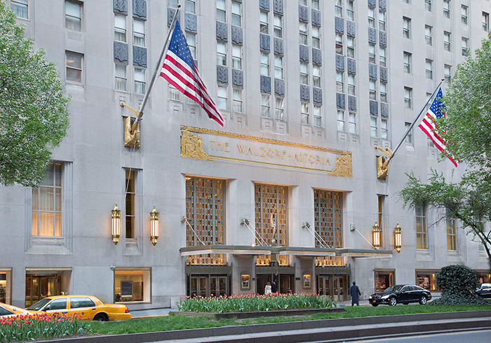 Waldorf-Astoria Hotel, New York City Hotels