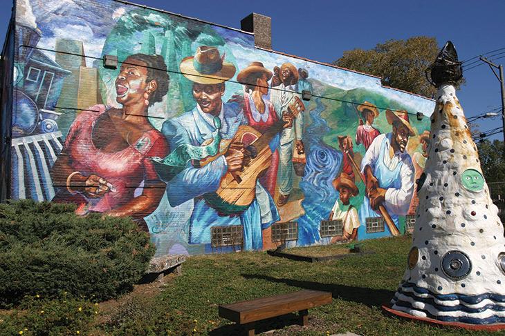 Bronzeville mural