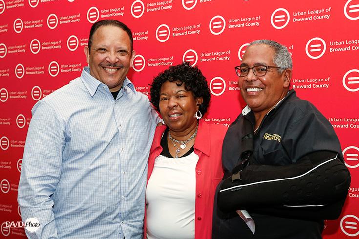 Urban League Marc Morial, Sallie Elam and Al Tucker