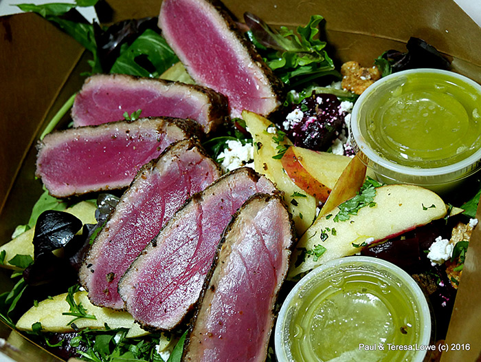 Ahi Tuna at Cafe Sol, Grand Junction