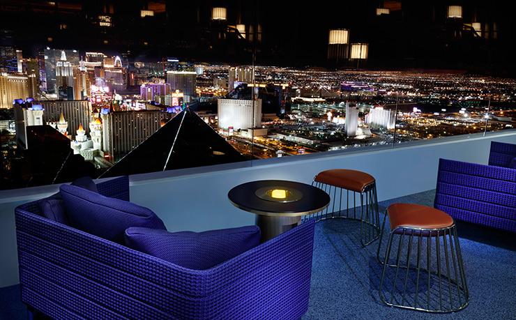 Skyfall Lounge balcony