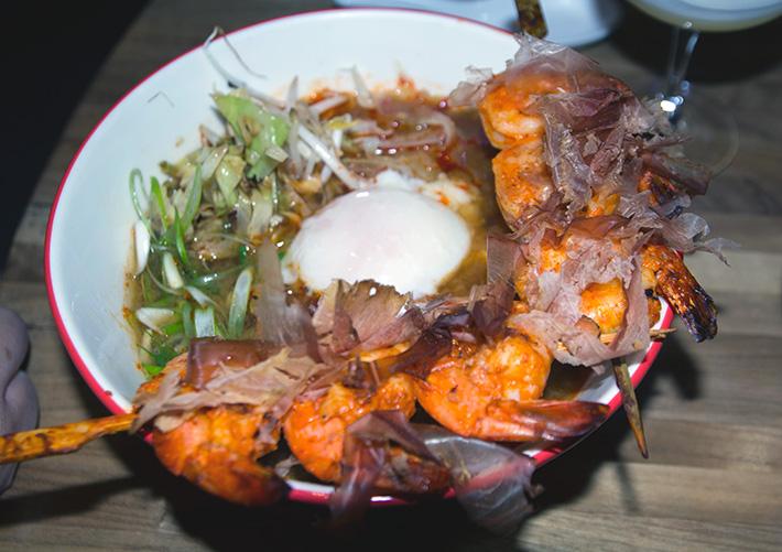 Spicy Shrimp Ramen, Las Vegas Restaurants