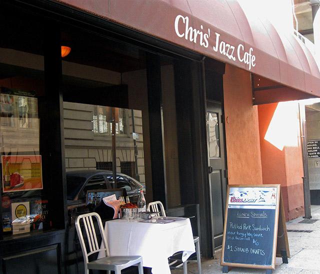 Chris Jazz Cafe, Philadelphia Restaurants