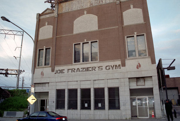 Historic Joe Frazier Gym on Broad Street