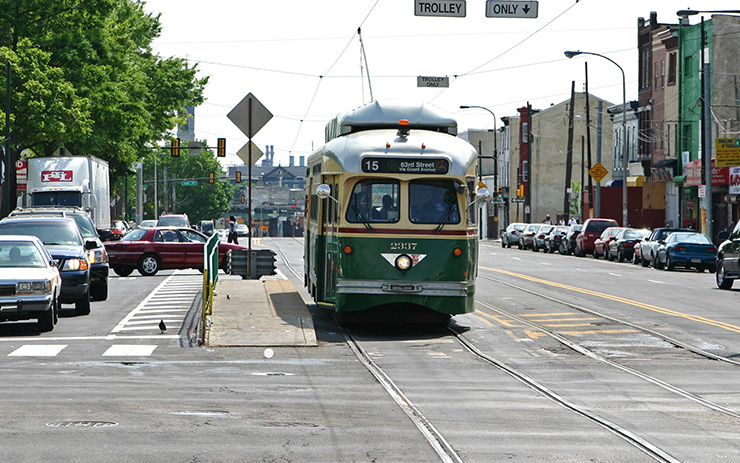 SEPTA Girard Streetcar in Philadelphia, Rapid Transit