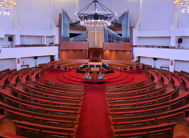 Philadelphia Zion Baptist sanctuary