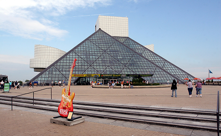 Rock & Roll Hall Of Fame and Museum, Cleveland
