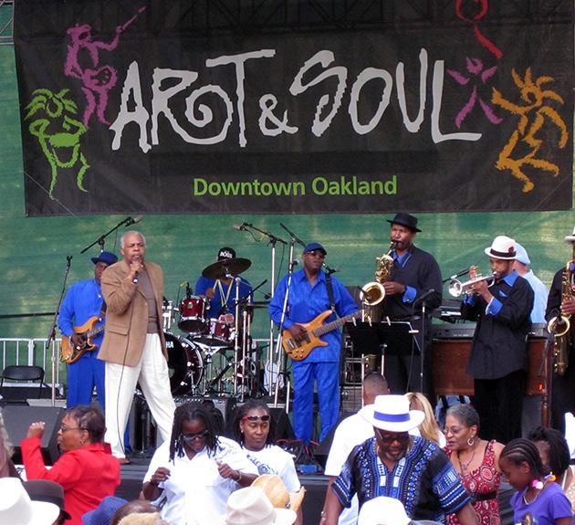 Art & Soul Festival performance