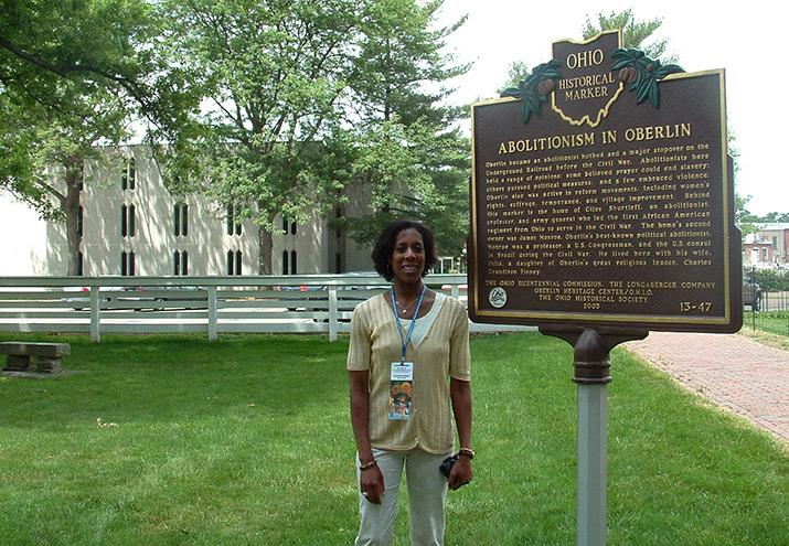 Oberlin Abolitionist marker