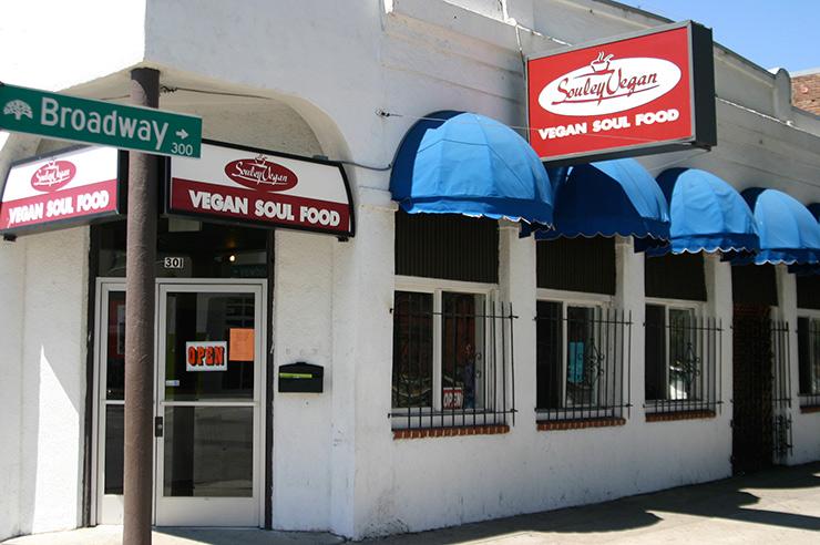 Souley Vegan Cafe Menu
