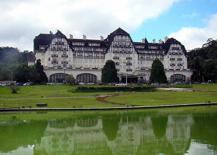 Palacio Quitandinha at Petropolis