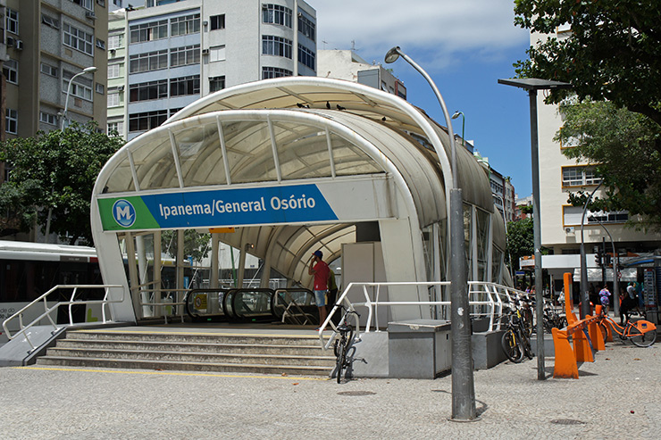 MetroRio Ipanema/General Osorio Station