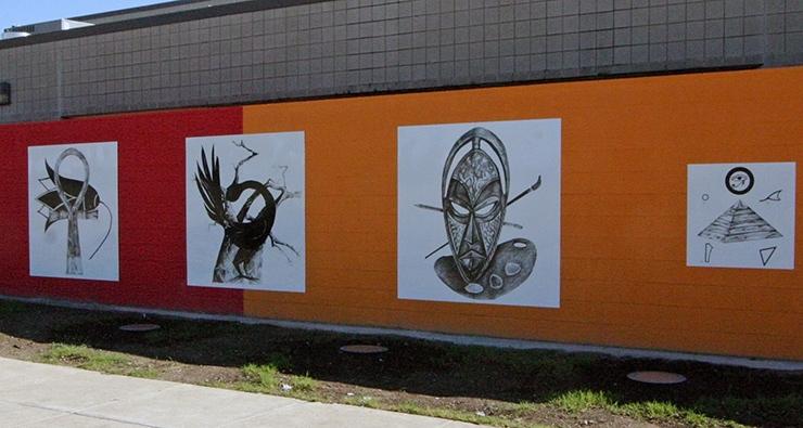 South Dallas Cultural Center icons, Dallas Cultural Sites