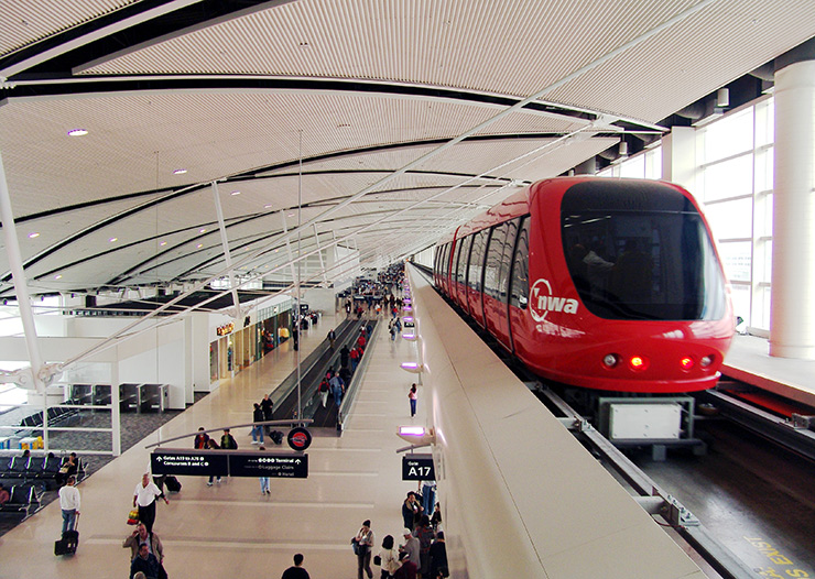 DTW Airport People Mover