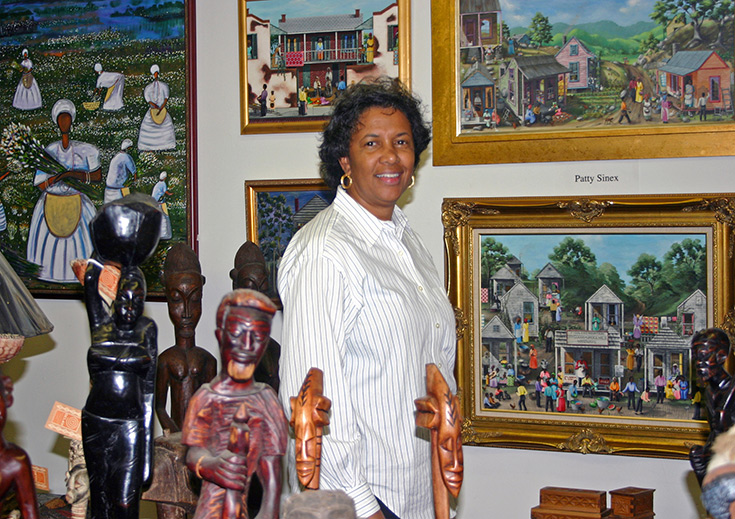 Black Heritage Gallery owner