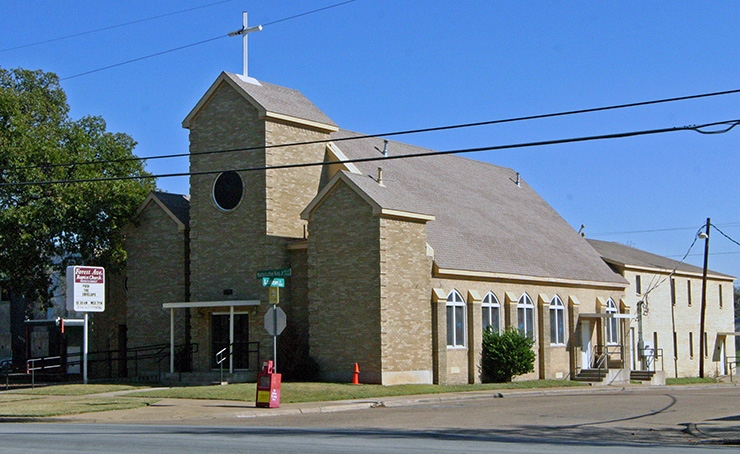 Forest Avenue Baptist Church, Dallas Places of Worship