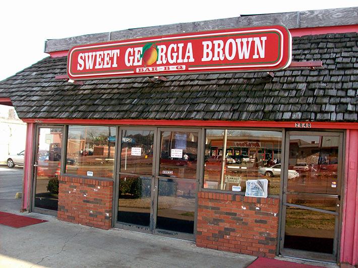 Sweet Georgia Brown in Dallas