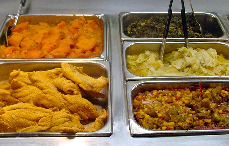 Black Soul Food Menu